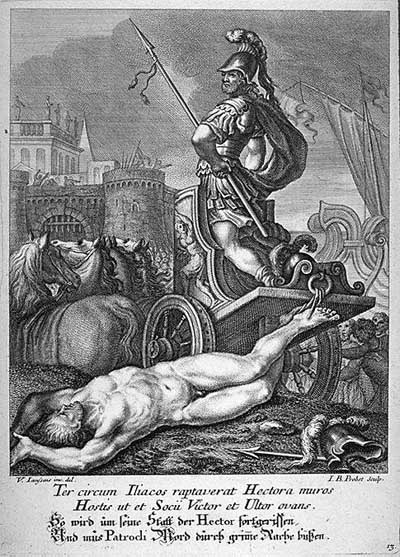 an analysis of the development of the character of achilles in the iliad The growth of achilles russell selva course: the progression of achilles' character in the iliad can easily be viewed as achilles' development mirrors that of a.