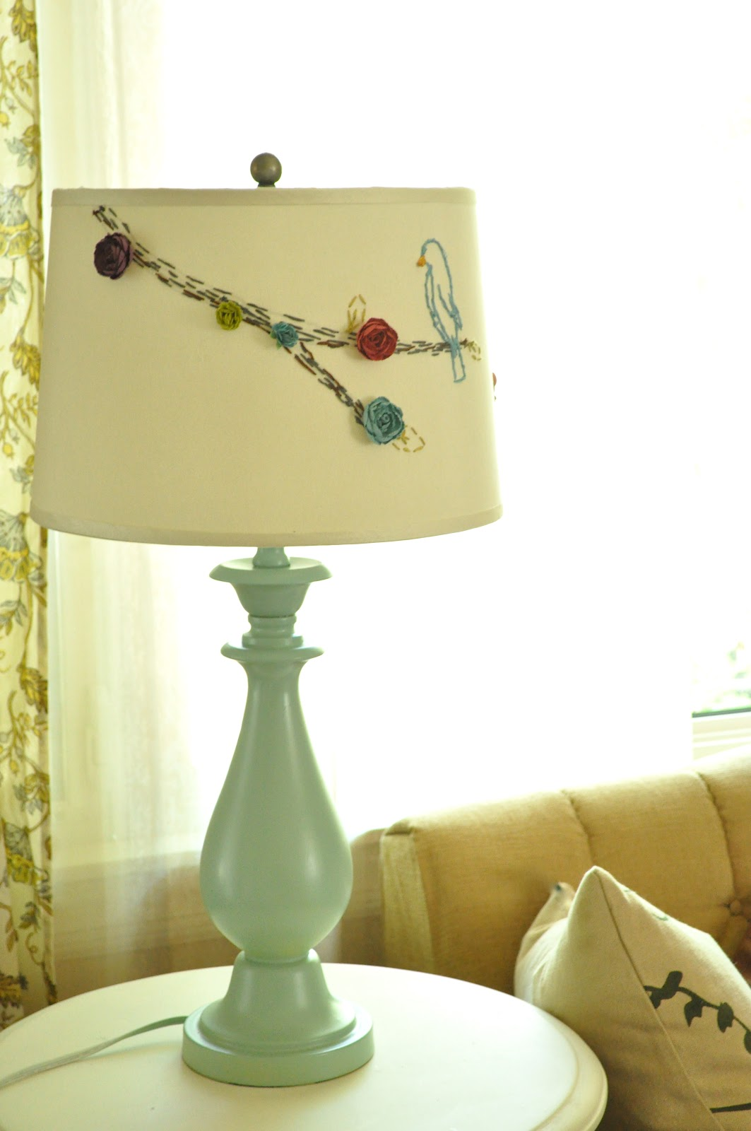 Anthropologie Style Lamp And Shade Make Overu2026