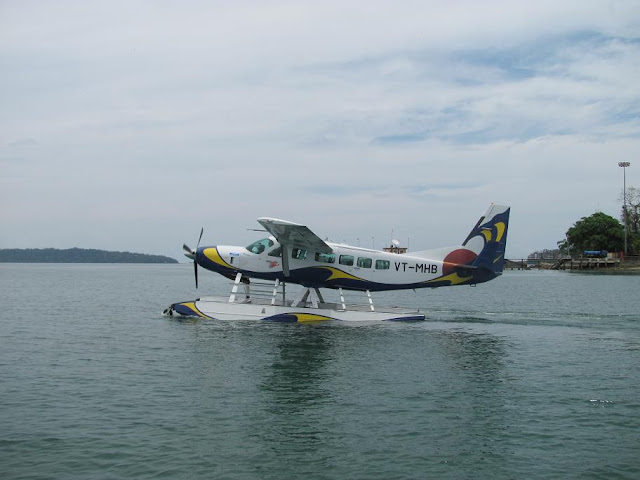 India's First SeaPlane operates in Andamans