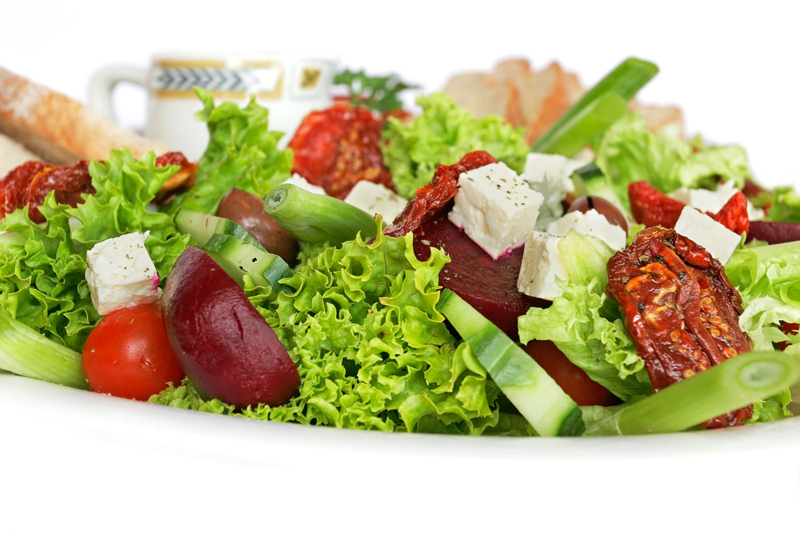comida pokemon Salada