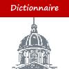 pictogramme de la rubrique Dictionnaire