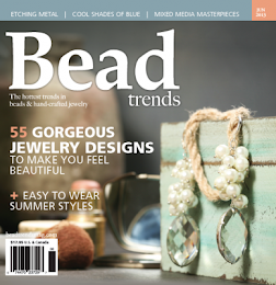 I'm published! Bead Trends Magazine 2013