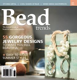 I'm published! Bead Trends Magazine 2013