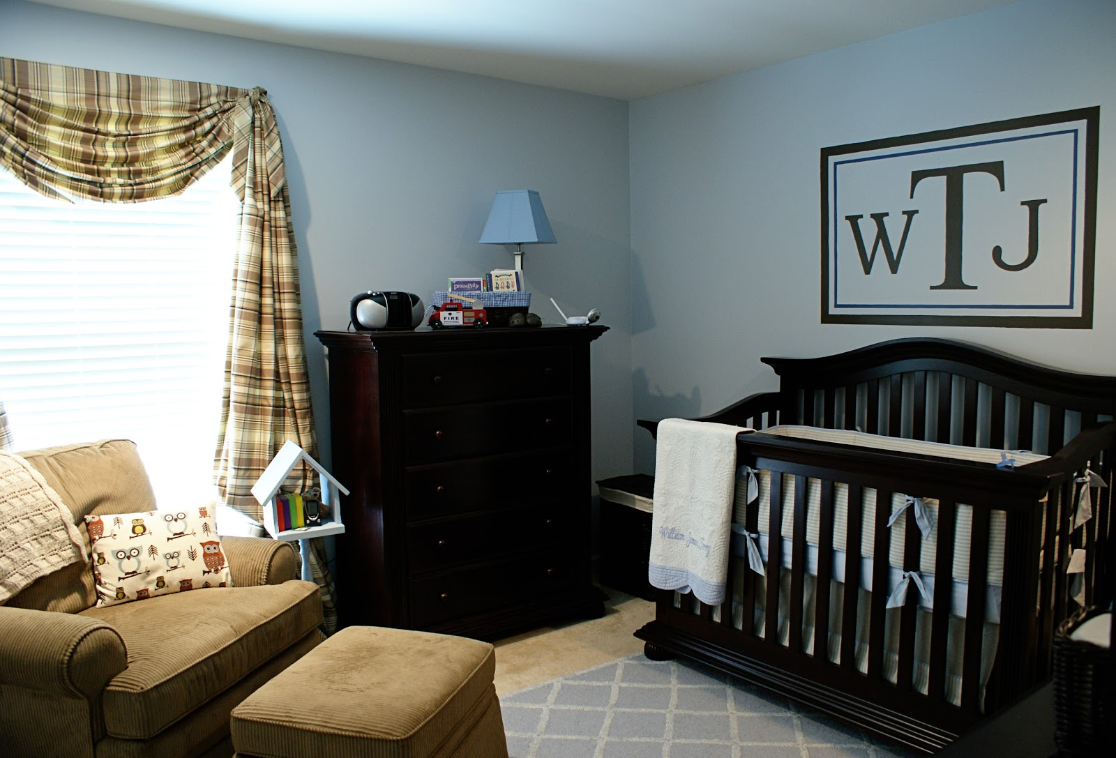 defining designs: Sweet baby boy nursery...