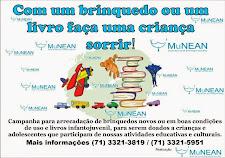 MuNEAN Inicia campanha para arrecadar brinquedos e livros