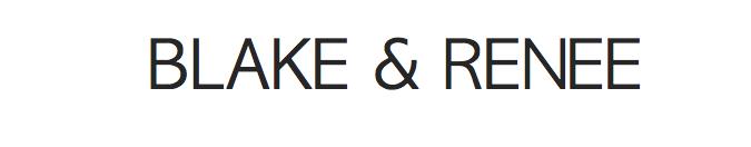 BLAKE AND RENEE