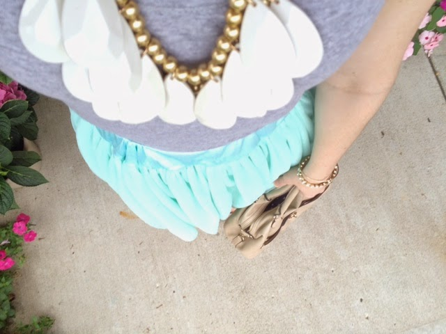 Tulle and Statement Necklaces