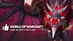 New Mount is Bat Ass