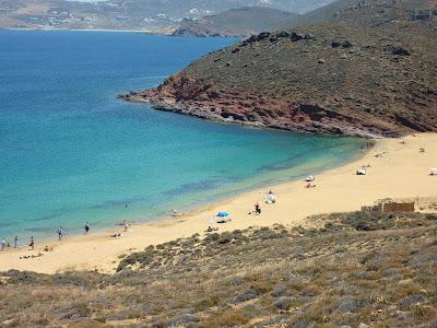 Get away from it all at Agios Sostis Beach, Mykonos, Greece. #mojotravels
