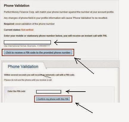 validasi phone number
