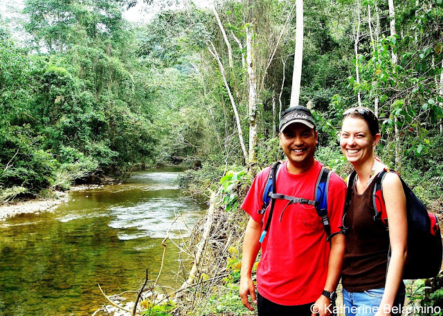 Hiking through the jungle to Actun Tunnichil Muknal, Belize