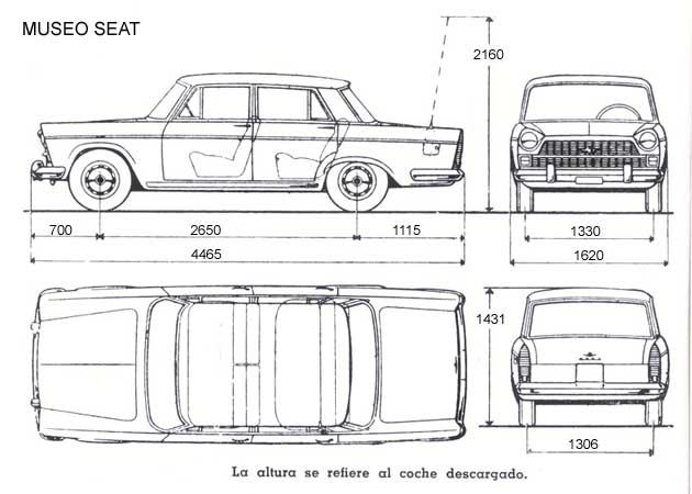 Analisis de maquinas seat 1500 - Dimensiones seat ...
