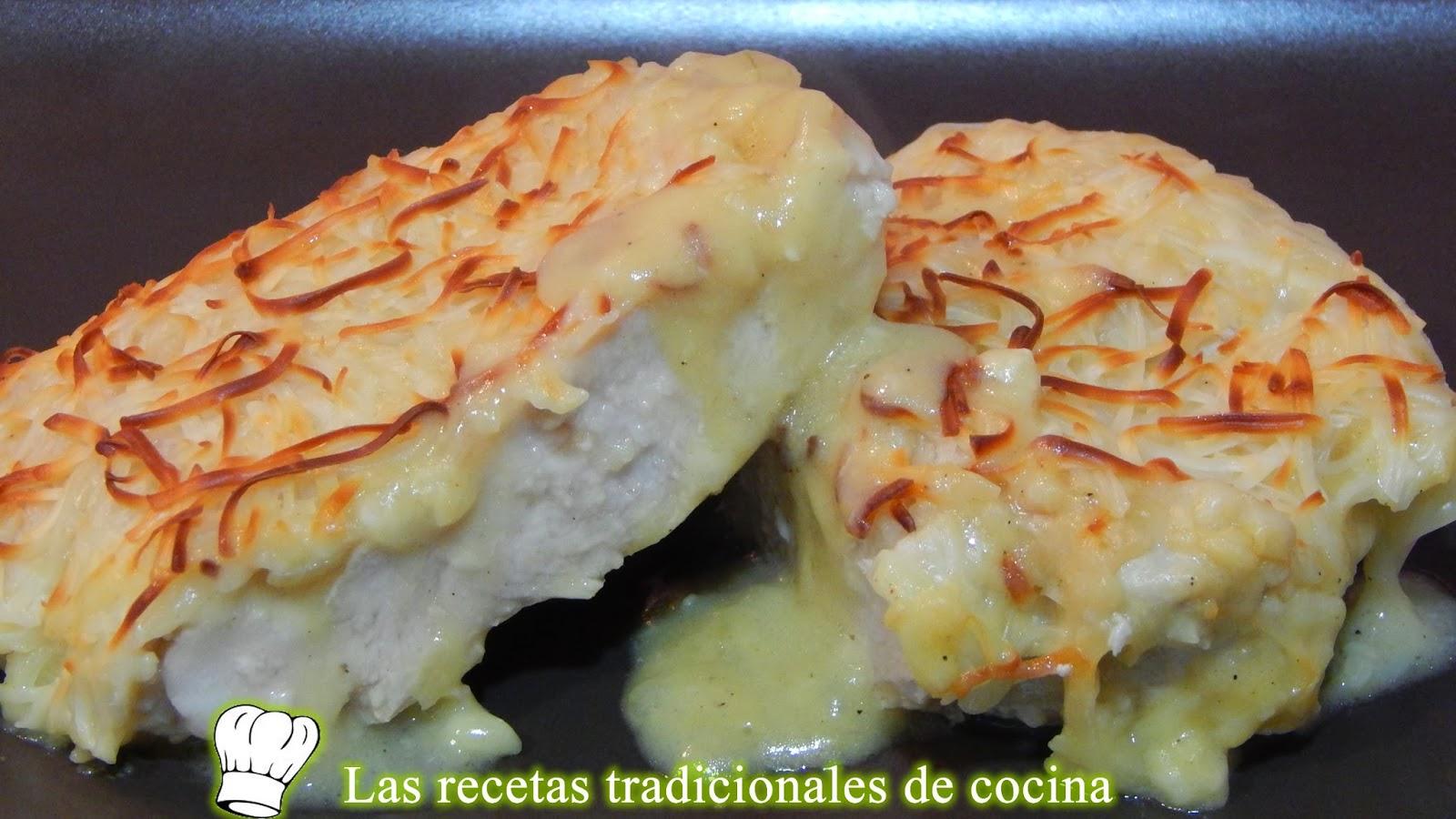 Pechugas de pollo gratinadas con bechamel Pechugas+de+pollo+con+bechamel