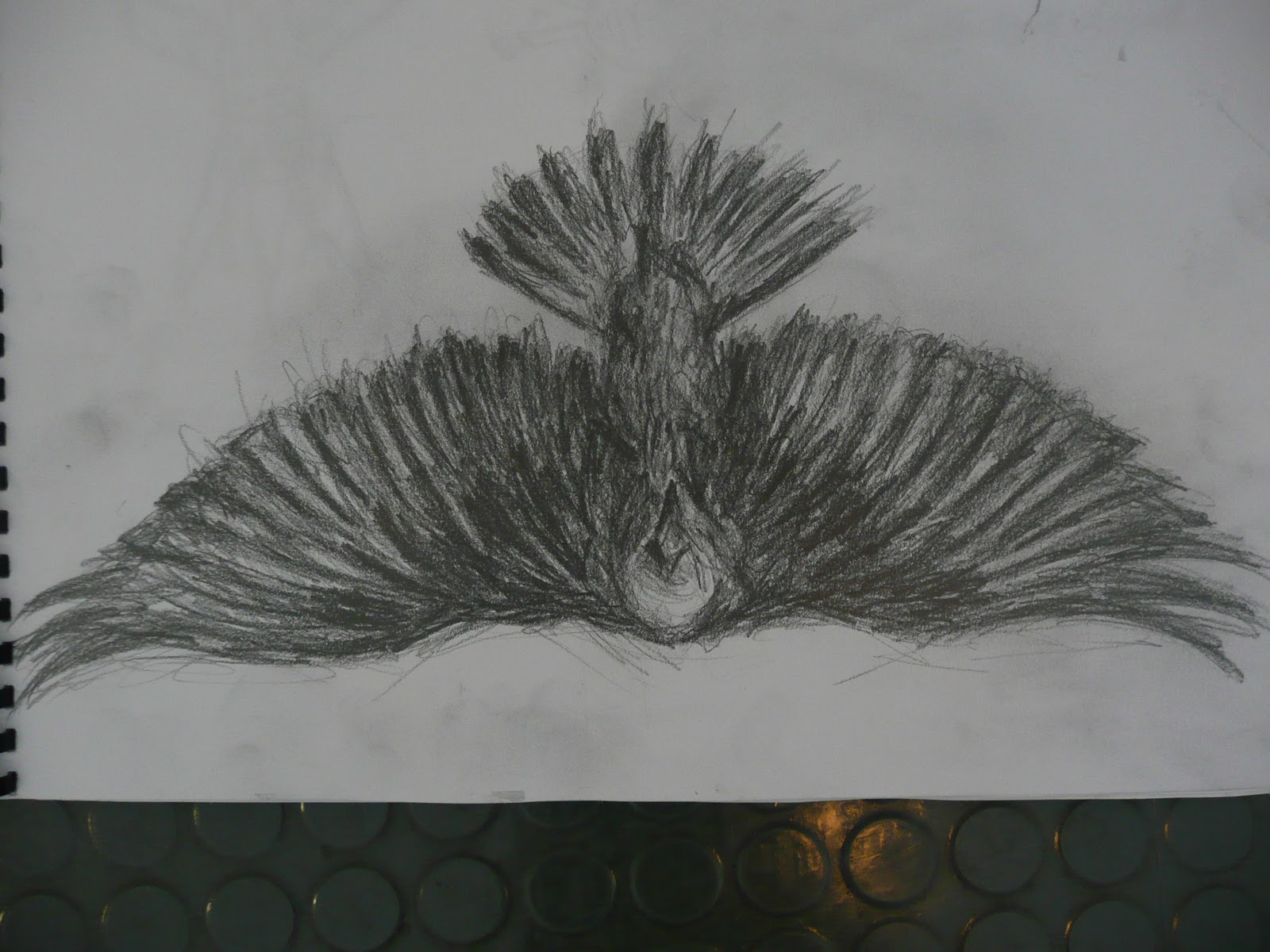 Raven Wings Drawing Images & Pictures - Becuo Batman Tattoo Chest