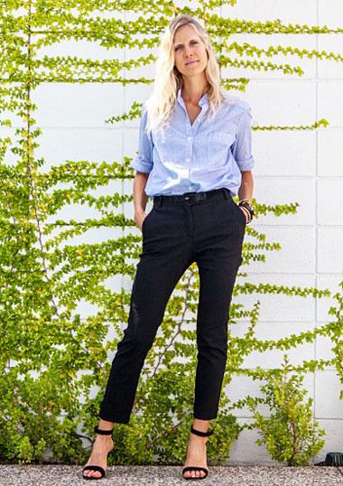 Jessica de Ruiter style