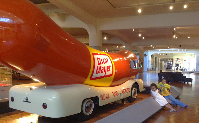 Reason 11: The Oscar Mayer Wienermobile at Henry Ford Museum  | iNeedaPlaydate.com @mryjhnsn