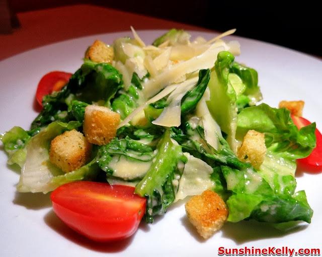 KL Restaurant Week, OPUS Bistro @ Bangkung, bangsar, Food Review, Italian food, cuisine, ceasar salad, salad