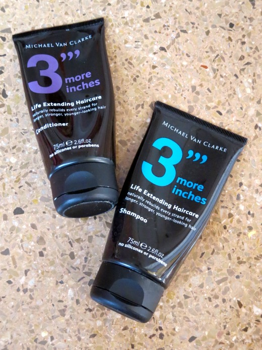 3''' more inches Shampoo and Conditioner