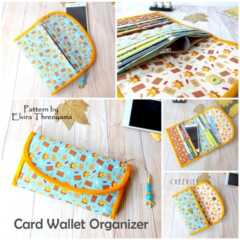 Card Wallet Organizer PdF Pattern