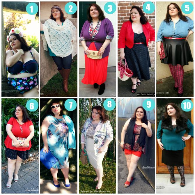 outfit plus size 2014 più visualizzati di divadellecurve.com