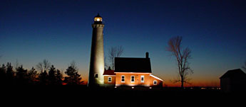 Live the life of a Victorian-era light keeper at Tawas Point Lighthouse