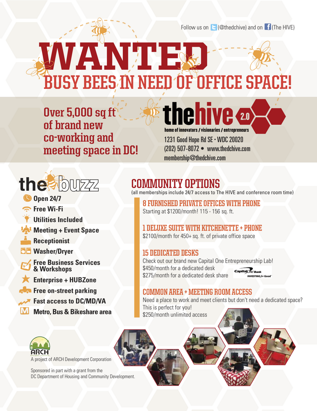 new furnished office space now available in ward 8 advertising office space