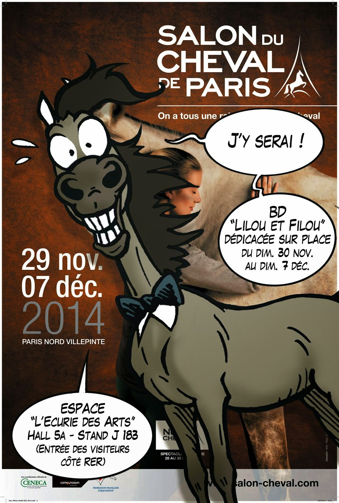 Un jour un cheval l 39 quitation c 39 est quoi - Salon du cheval 2014 paris ...
