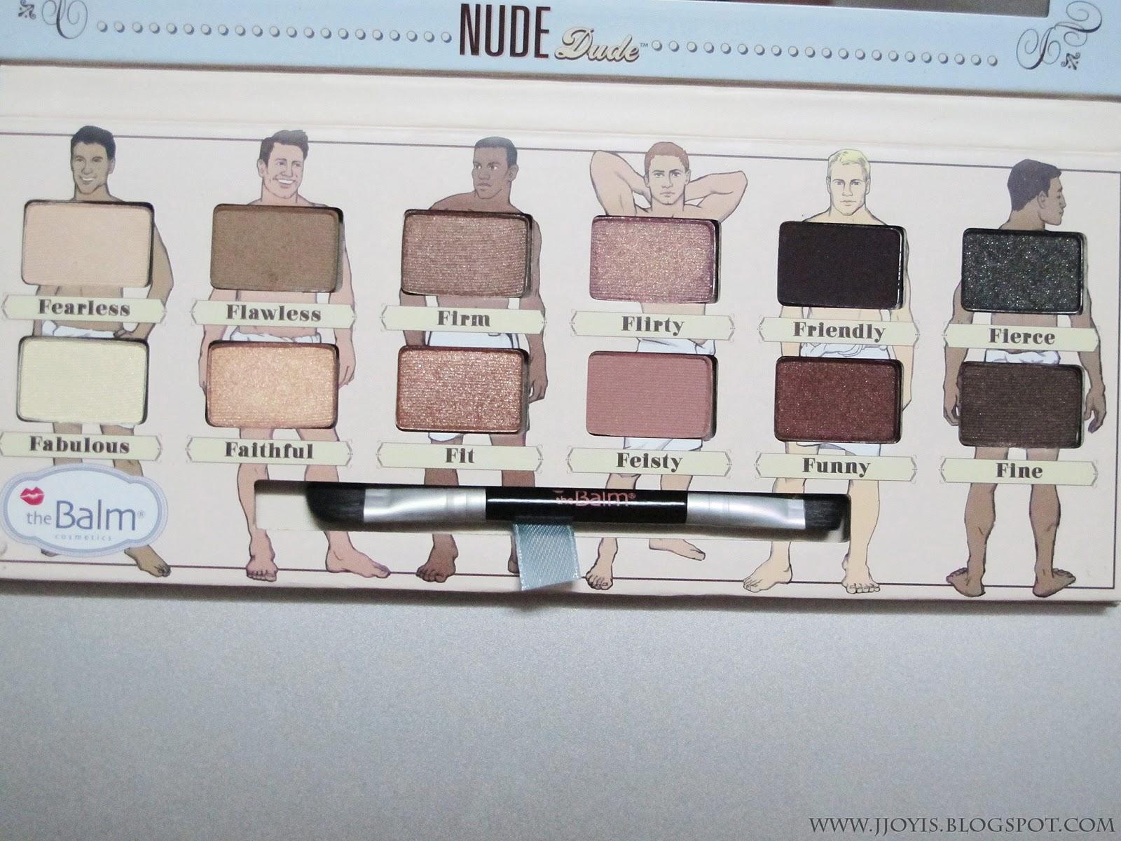 theBalm Cosmetics, Nude Dude, Volume 2, Nude Eyeshadow