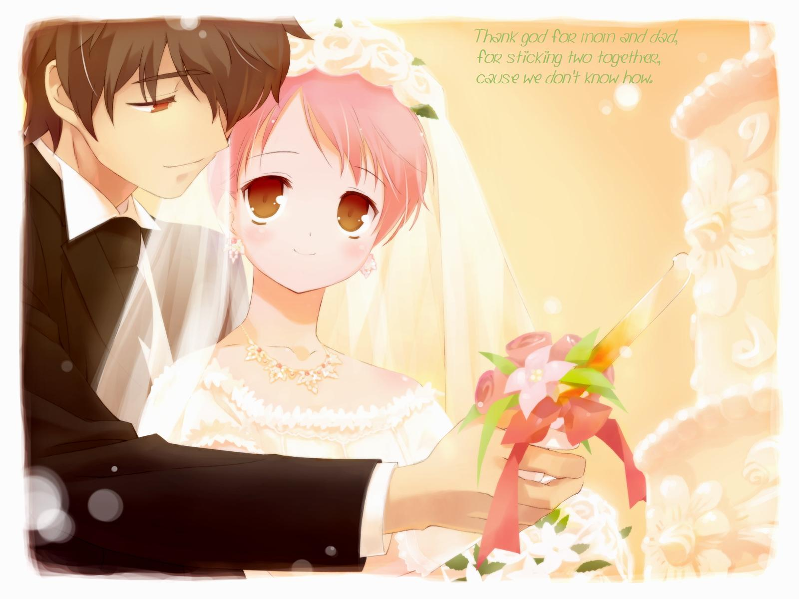 ulgobang: Anime love couples wallpaper