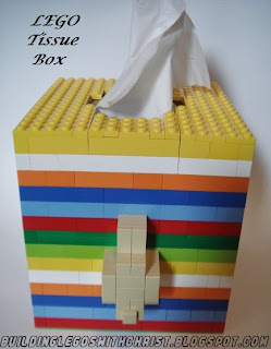 LEGO Tissue Box Creation, Puffs Tissues with Vicks Rock