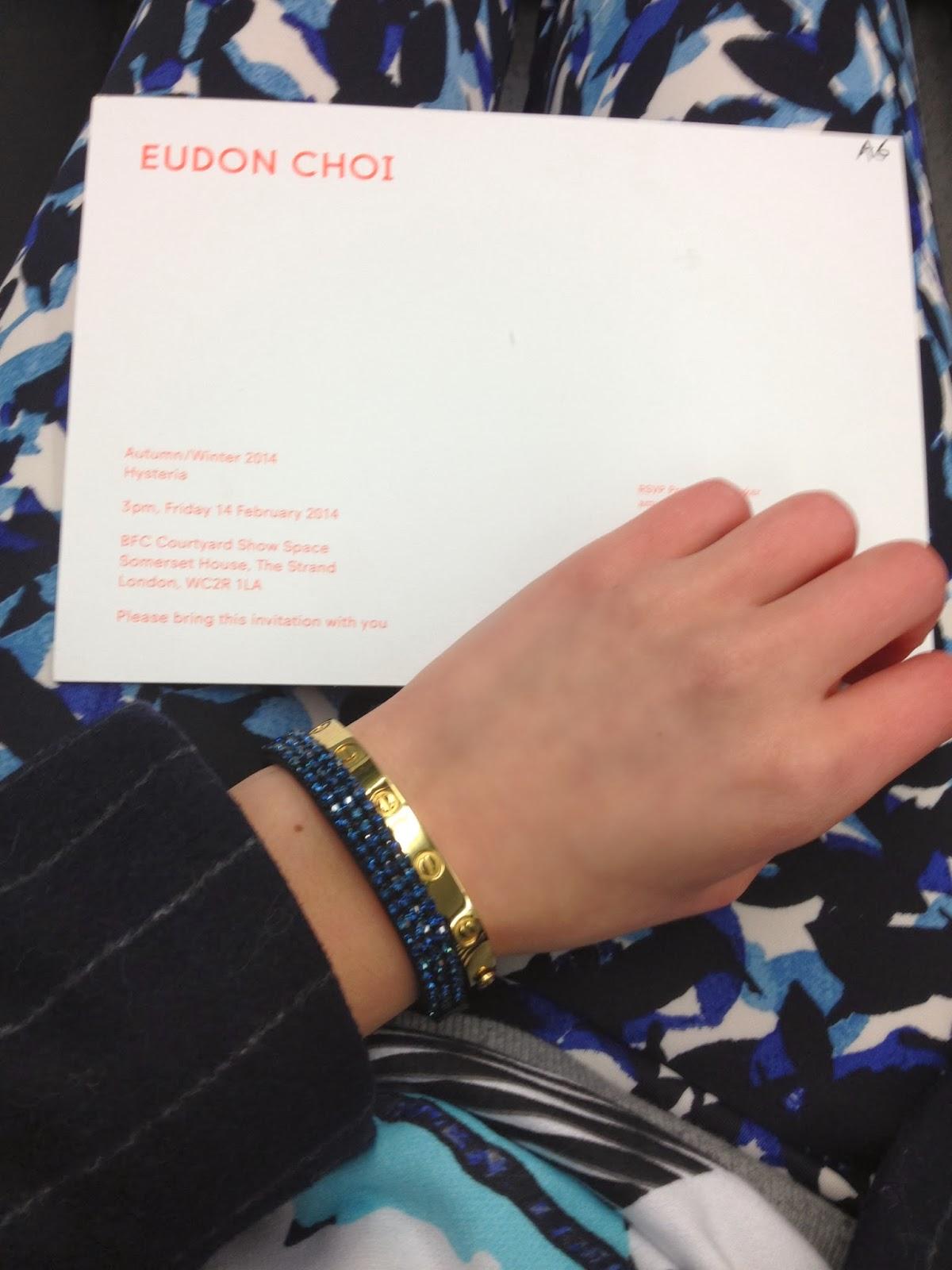 Zara printed pants, Swarovski, swarovski bracelet, minusey bracelet, minusey love bracelet, cartier bracelet, LFW, london fashion week