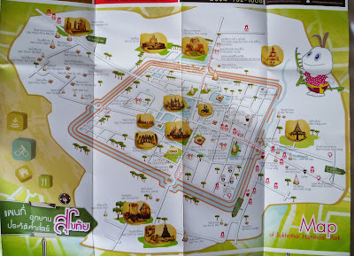 Old Sukhothai Map