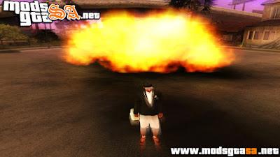 Mod Borrão nas Explosões