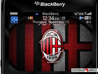 Tema BlackBerry 8520 AC Milan Download Tema BlackBerry 8520 Gratis 2012
