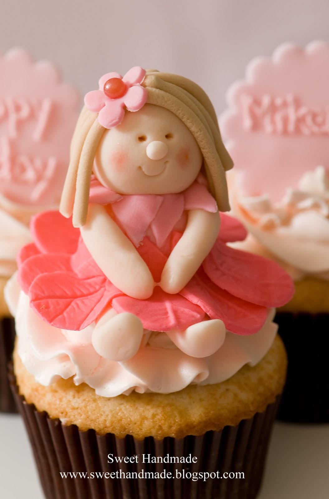 Sweet handmade cookies fairy cupcake tower for How to make fairy cupcakes