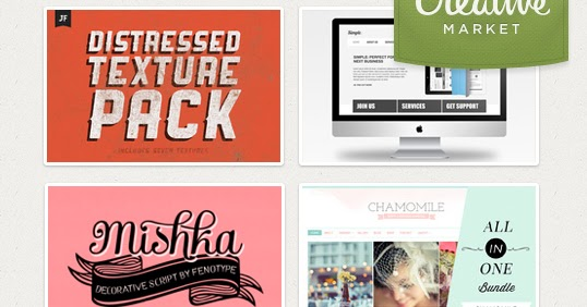 Creative Market: resources for designers