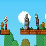 لعبة سوبر ماريو ضد الزومبي