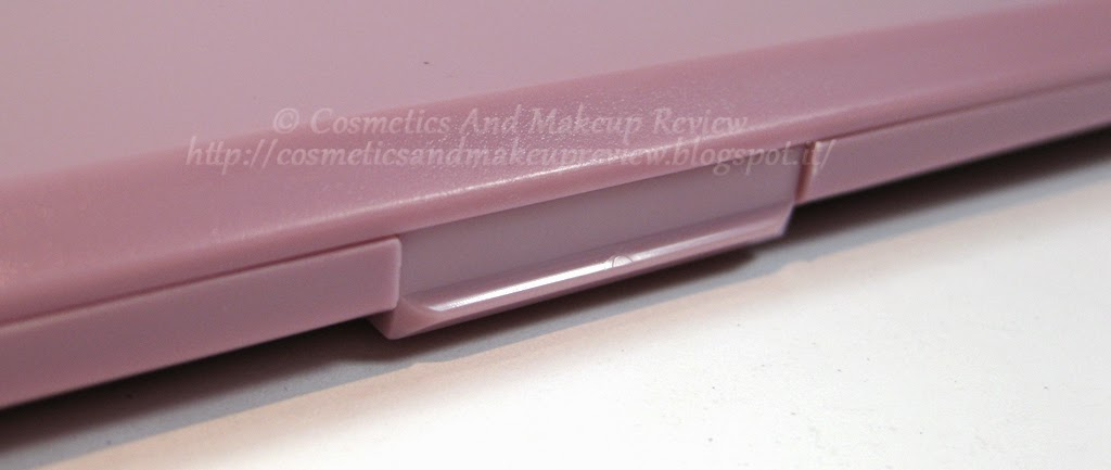 Neve Cosmetics - Palette Duochrome (2014) - dettaglio apertura