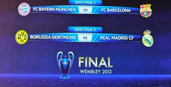 Champions League 2013 Road to Final