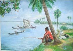 Painting of Bose: Choonda (Oil)