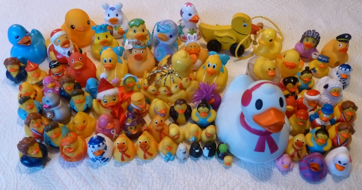 Travel with a Beveridge: Smile, these rubber duckies could be yours ...