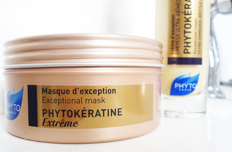 Phyto Phytokeratine Extreme Exceptional Mask & Exceptional Cream review