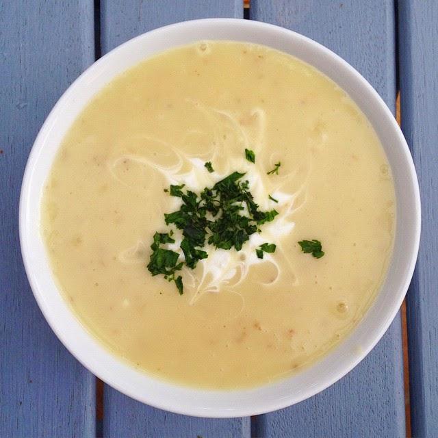 Healthy Creamy Potato Soup