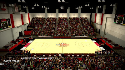 NBA 2K13 Summer League 2013 Stadium Mod