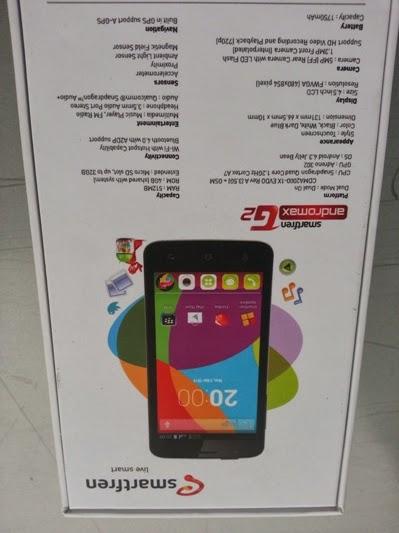 Gambar Spesifikasi dan harga andromax g2