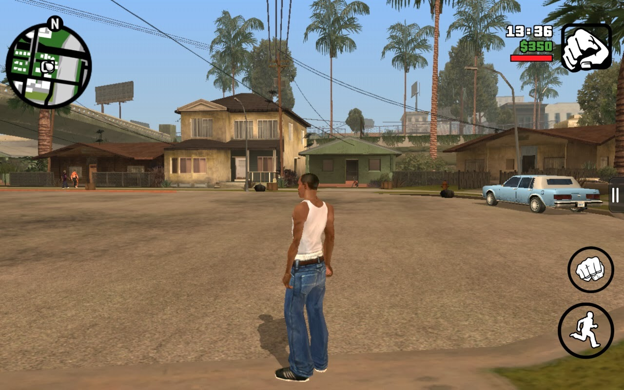 Grand Theft Auto San Andreas : Grand theft auto san andreas android review
