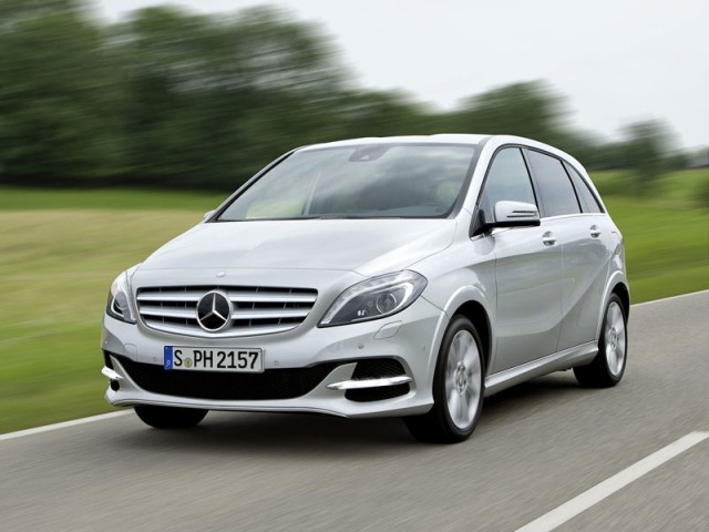 Mercedes-Benz B 200 Natural Gas Drive 2013