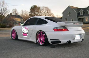 coches hello kitty