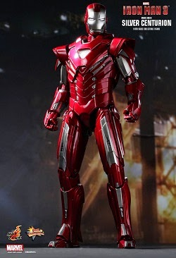 "IRON MAN 12"" MARK 33 SILVER CENTURION AF"