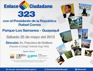 Cadena Sabatina Correa 25 mayo 2013